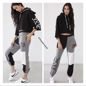 Juicy Couture x UO Colorblock Sweatpants Joggers M